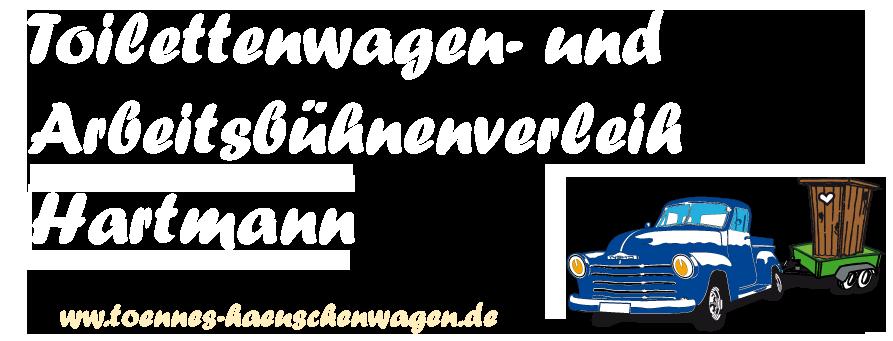 Toilettenwagenverleih Hartmann